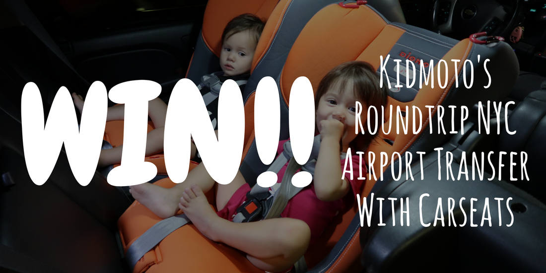 US Japan Fam reviews Kidmoto's family-friendly NYC airport transportation!
