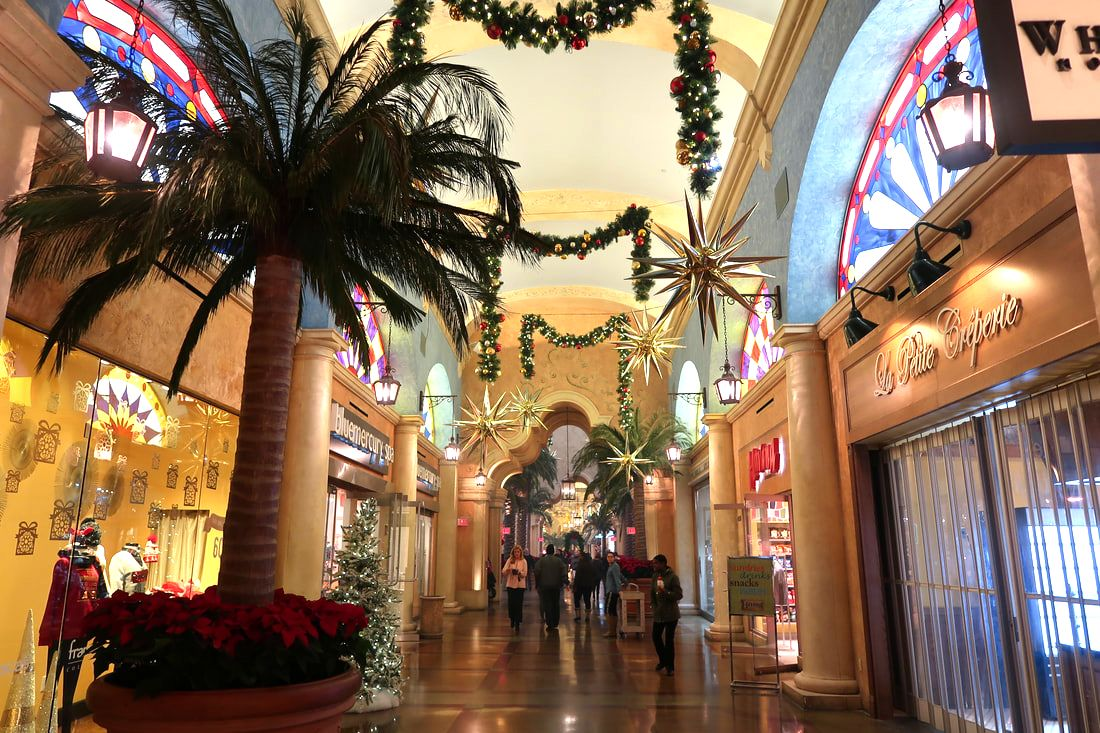 Christmas Decorations at Tropicana Atlantic City