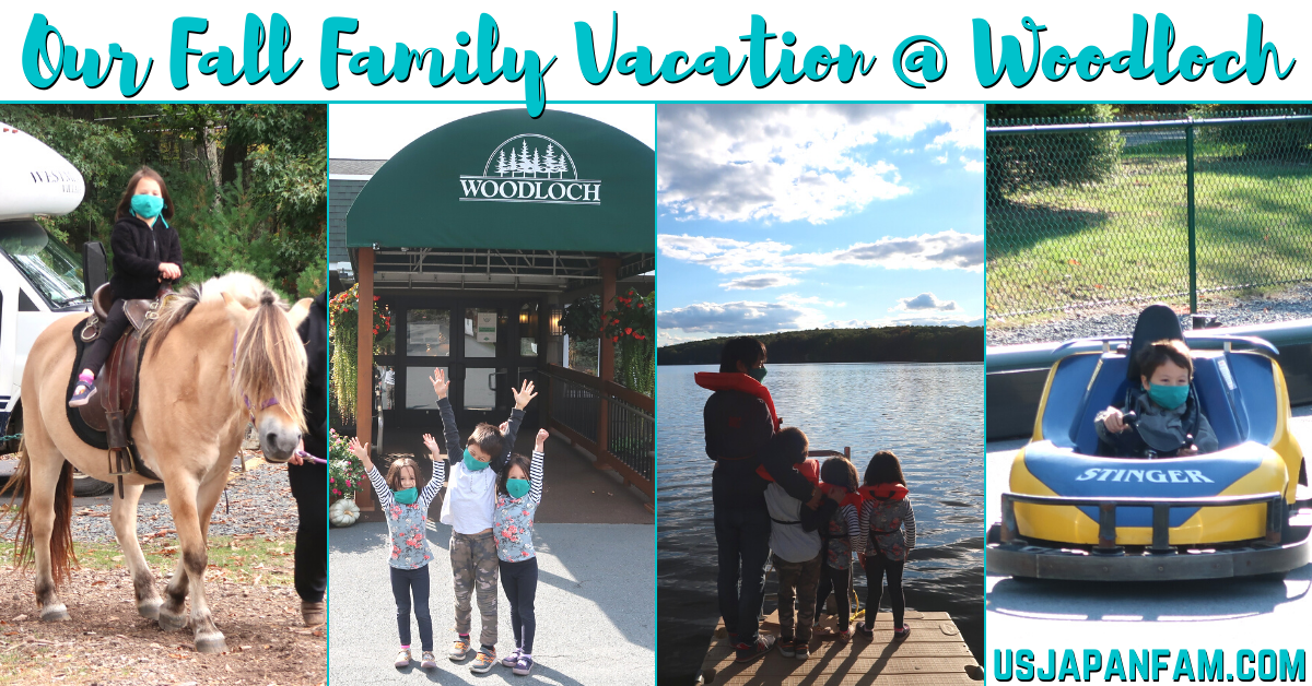 US Japan Fam's Fall Family Vacation at Woodloch All-Inclusive Resort - Family Friendly Resort Review