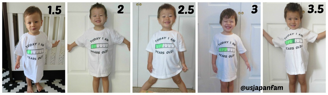 US Japan Fam loves Grow With Me Tee - the preschool years!