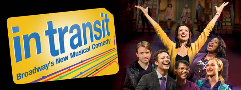 Support Children's Health Fund - buy 1 get 1 free tickets to IN TRANSIT on Broadway!