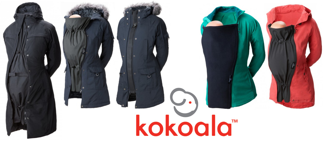 Kokoala coat extensions for pregnancy and babywearing