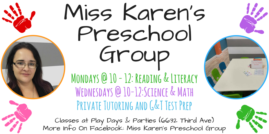 Miss Karen's Preschool Group in Bay Ridge, Brooklyn
