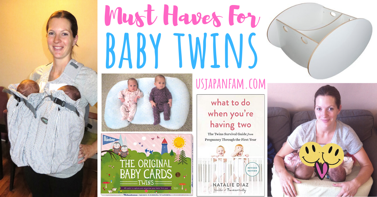 US Japan Fam's Must Haves for Baby Twins