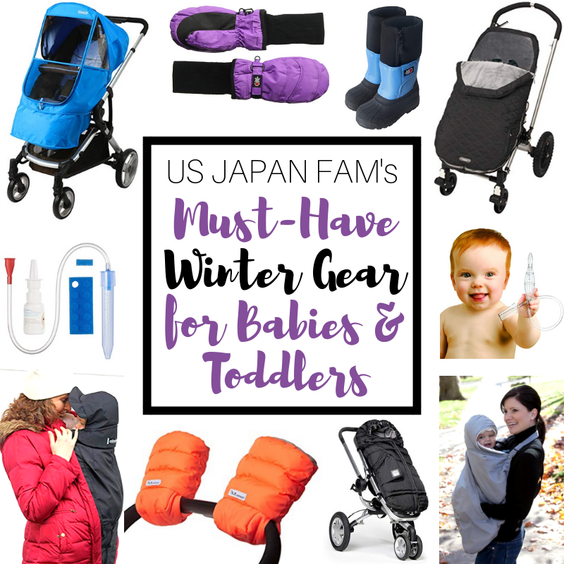 Must-have winter gear for babies and toddlers, by us japan fam