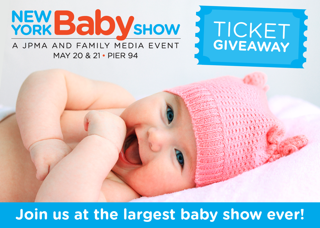 US Japan Fam is giving away 10 tickets (single or family) to the 2017 New York Baby Show on May 20 and 21!!!