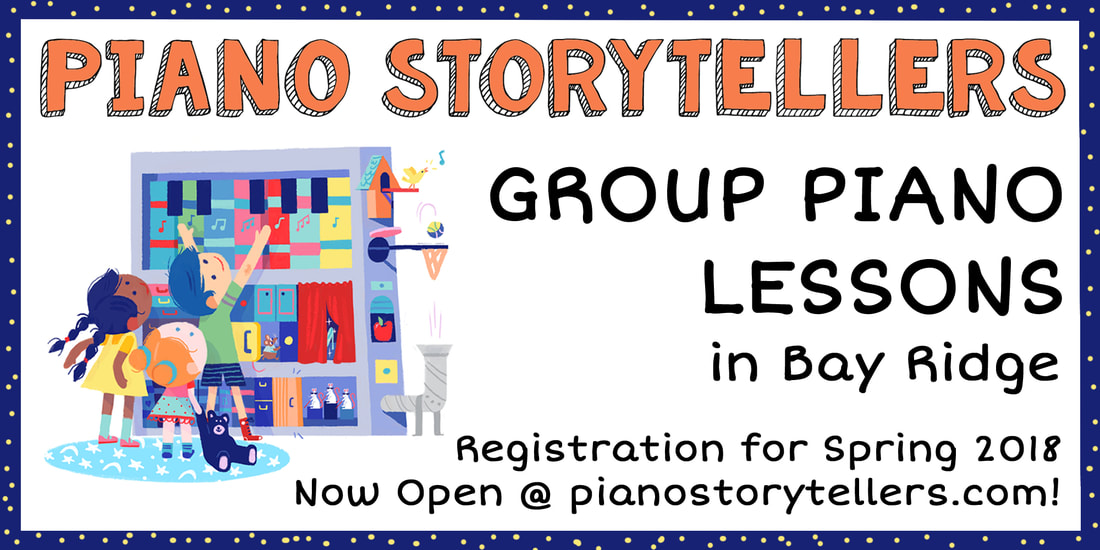 Piano Storytellers: children's group piano lessons in Bay Ridge, Brooklyn