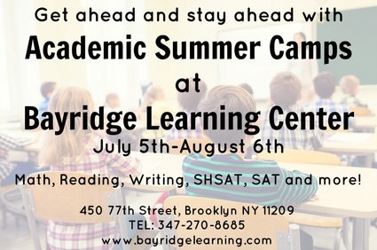 Bayridge Learning Center Summer Camp