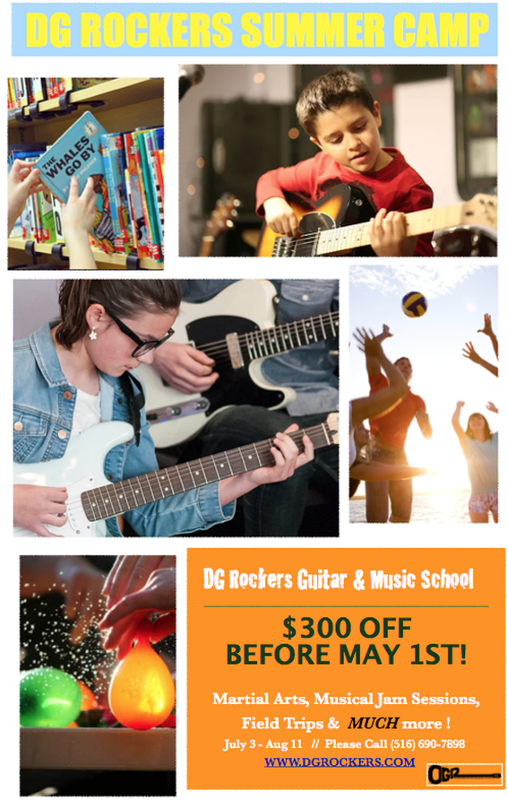DG Rockers Guitar & Music School - Summer Camp