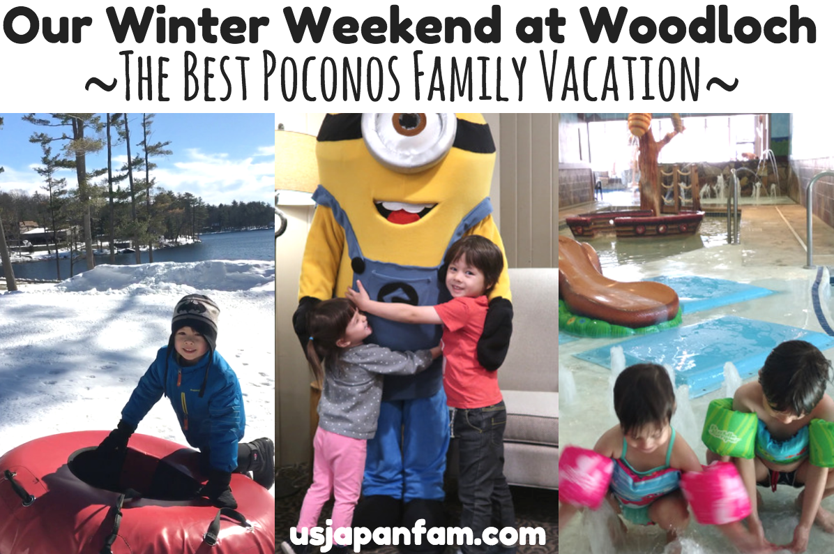 Our Winter Weekend at Woodloch - the Best Poconos Family Vacation!