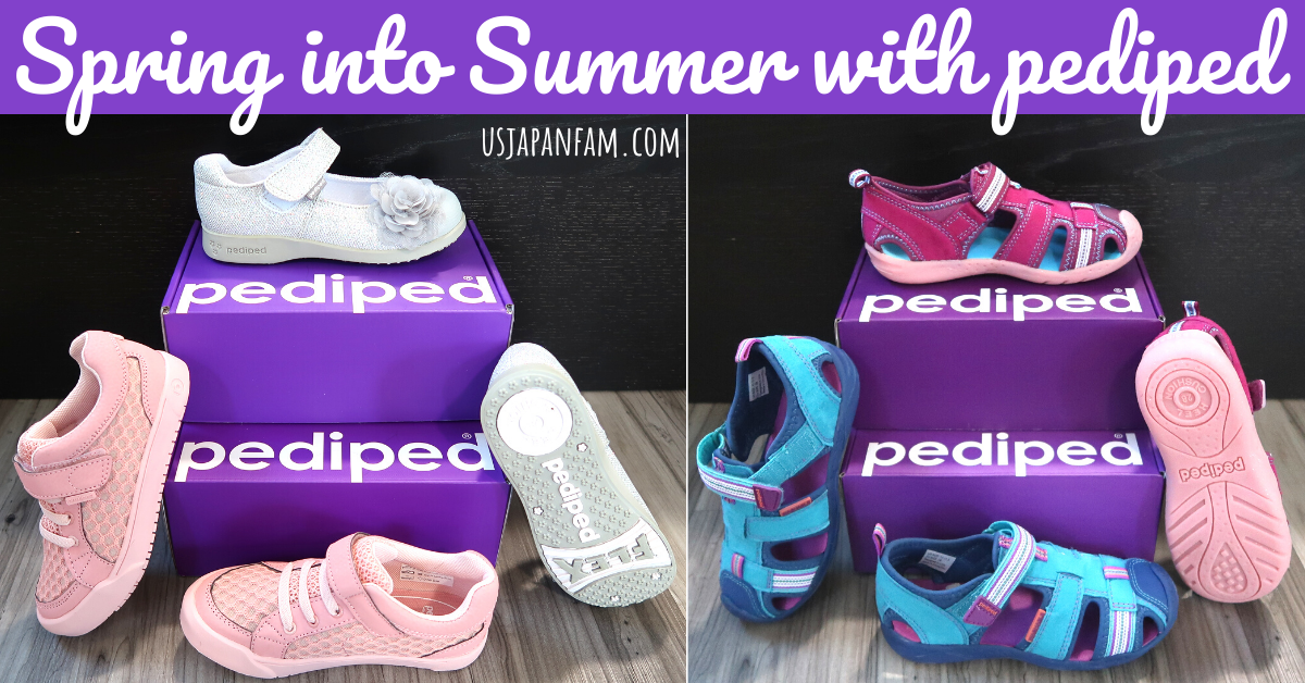 US Japan Fam reviews pediped childrens spring and summer shoes