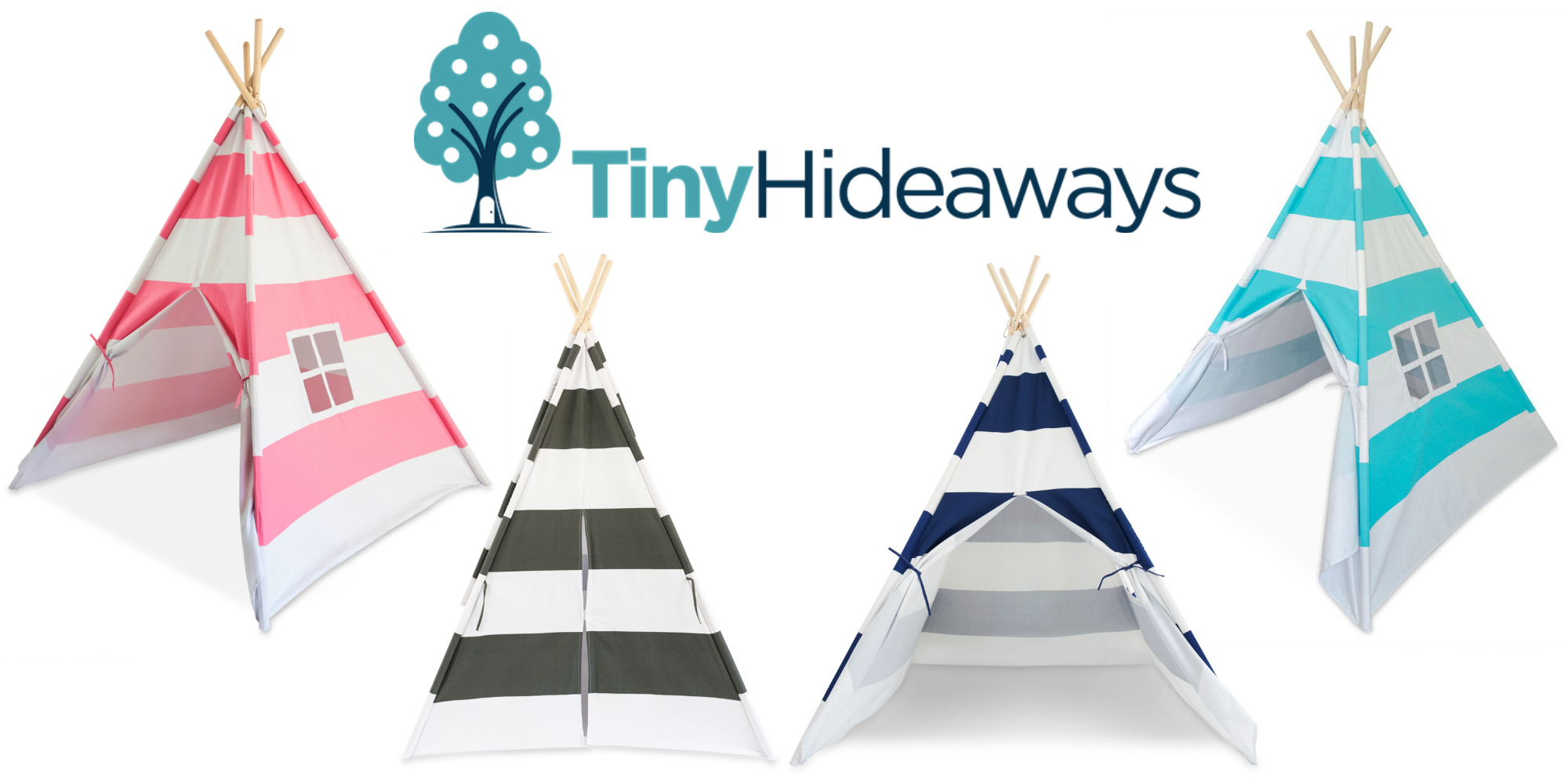Tiny Hideaways Teepee Tents in US Japan Fam's Unique Gift Guide & Giveaway