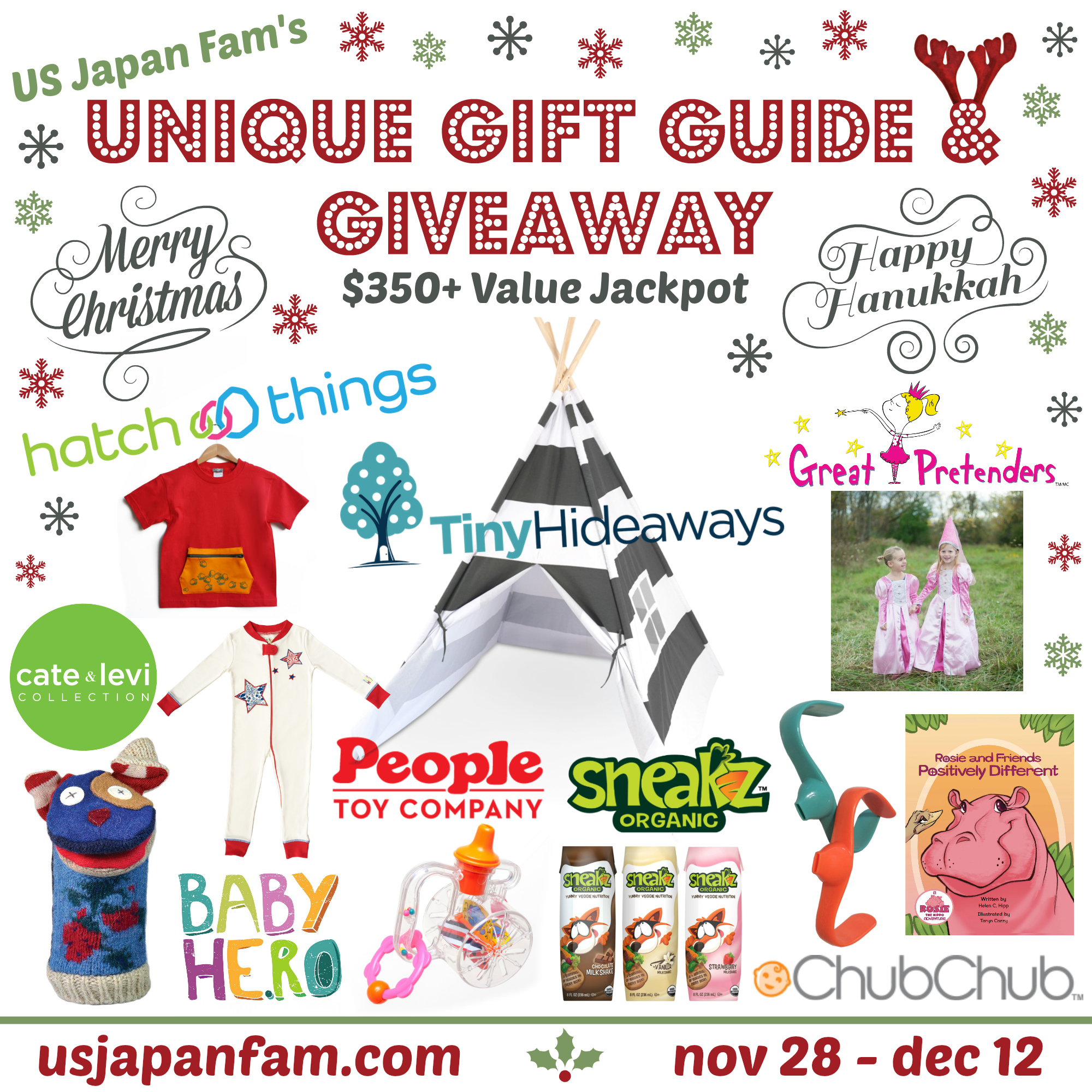 US Japan Fam's Unique Gift Guide & Giveaway for Toddlers