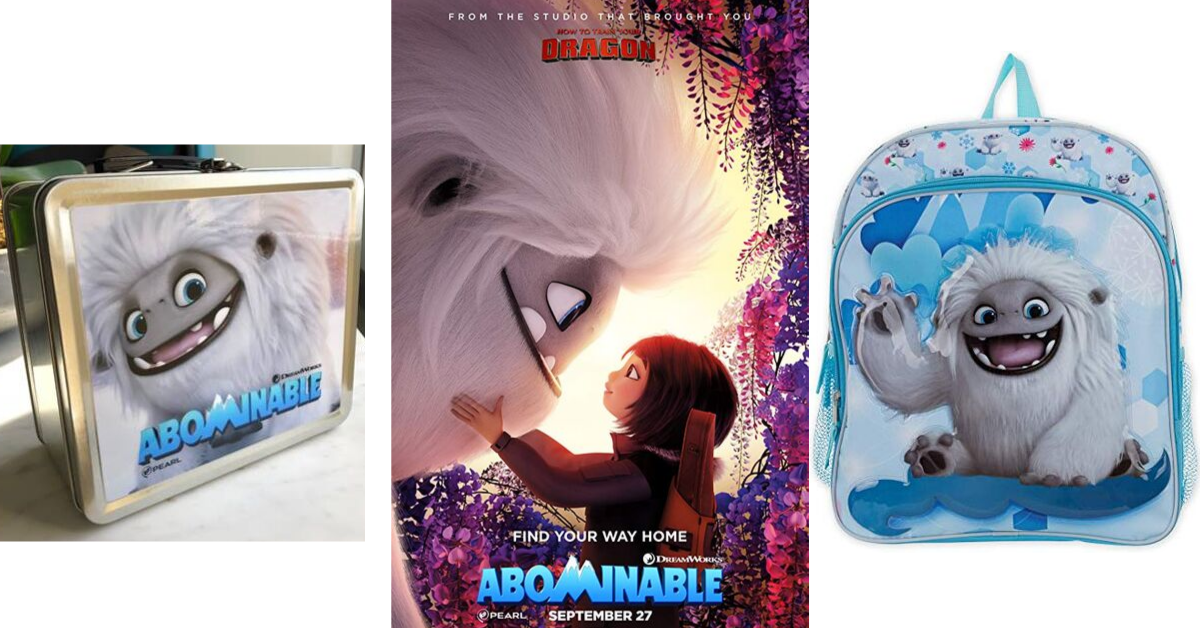 US Japan Fam's 2019 Toddler Fall Faves Giveaway featuring swag from Dreamworks' Abominable