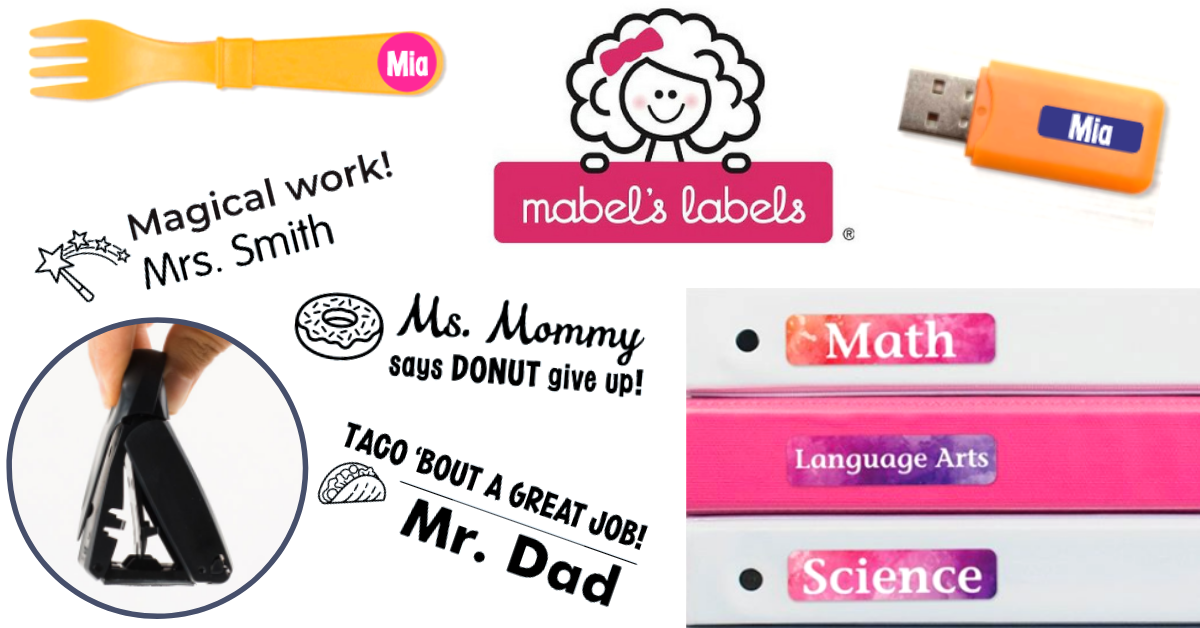 US Japan Fam 2020 Back to School Giveaway - Mabel's Labels Set