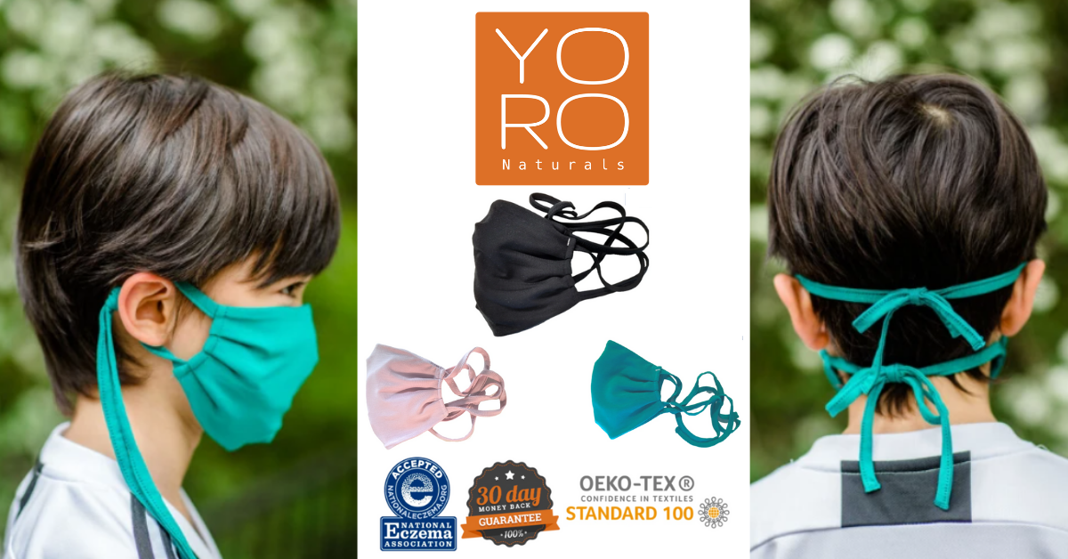 US Japan Fam 2020 Back to School Giveaway - YoRo Naturals Remedywear Washable Mask