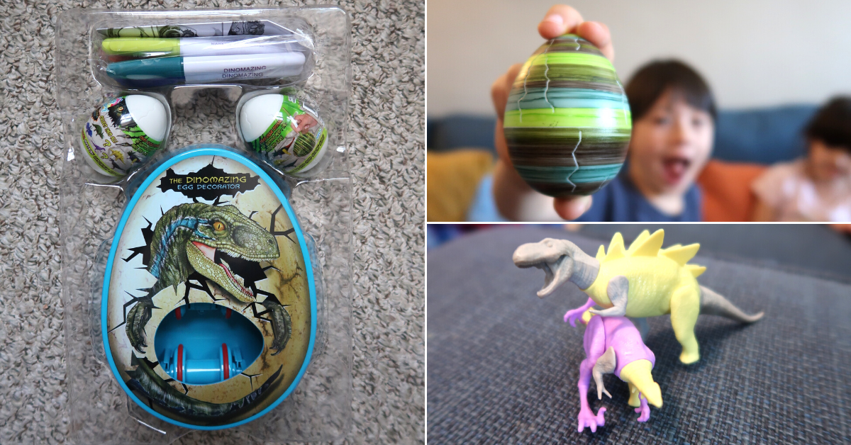 US Japan Fam's Brighter Days Ahead Giveaway for Families - DinoMazing Dinosaur Egg Decorator