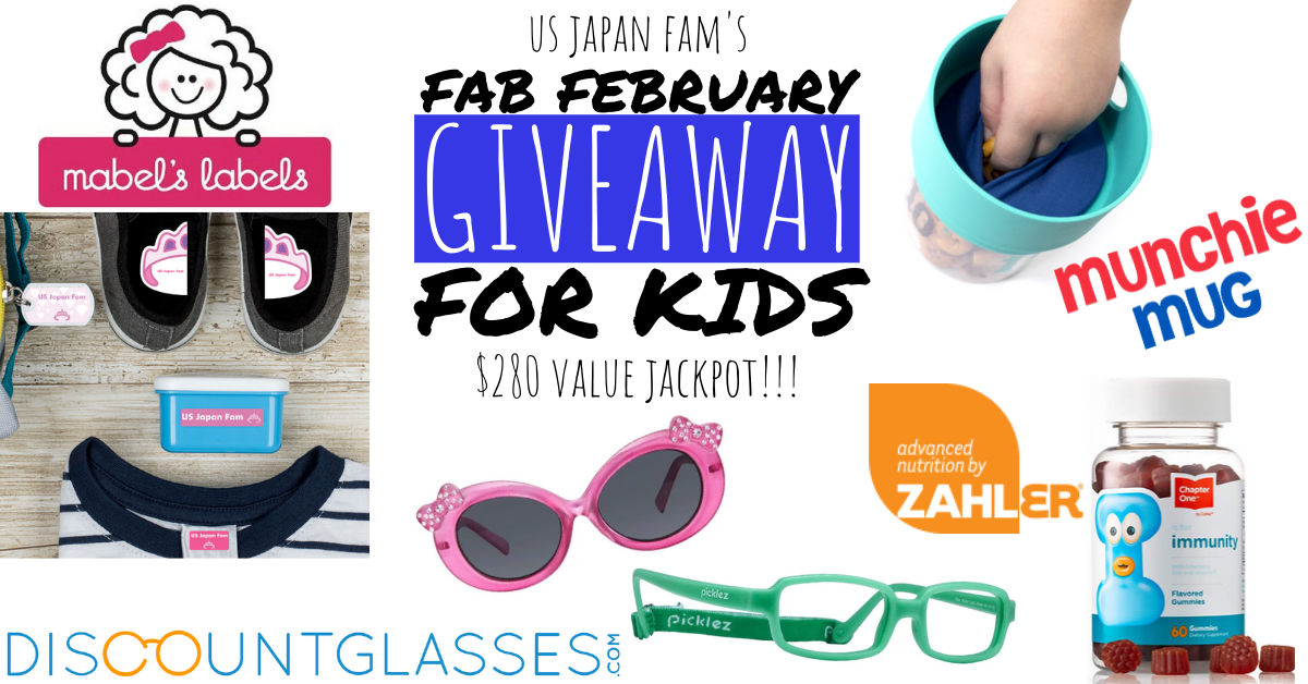 US Japan Fam's Fab February Giveaway for Kids
