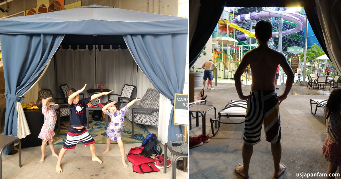 US Japan Fam reviews The Kartrite Resort & Indoor Waterpark for the perfect family vacation near NYC - Cabana