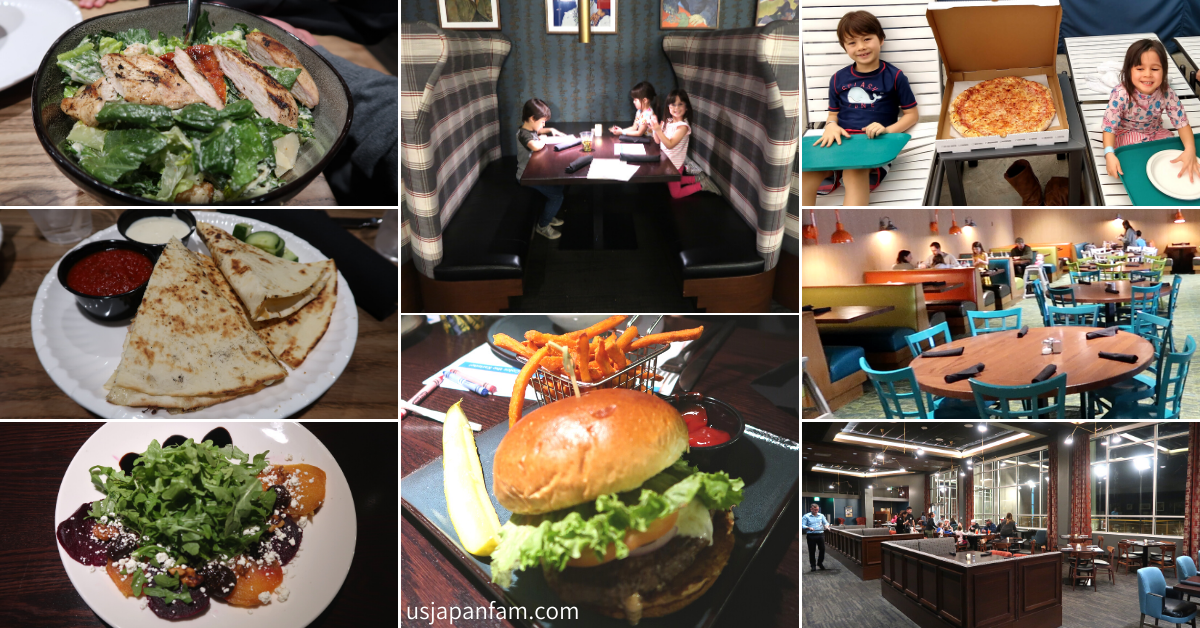 US Japan Fam reviews The Kartrite Resort & Indoor Waterpark for the perfect family vacation near NYC - Dining Options