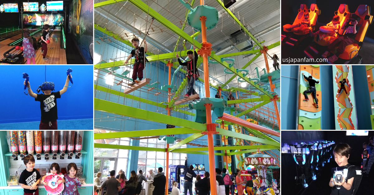 US Japan Fam reviews The Kartrite Resort & Indoor Waterpark for the perfect family vacation near NYC - Indoor Adventures
