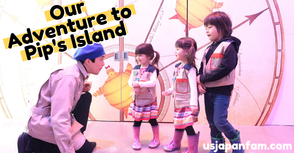 US Japan Fam reviews Pip's Island immersive adventure for children in NYC