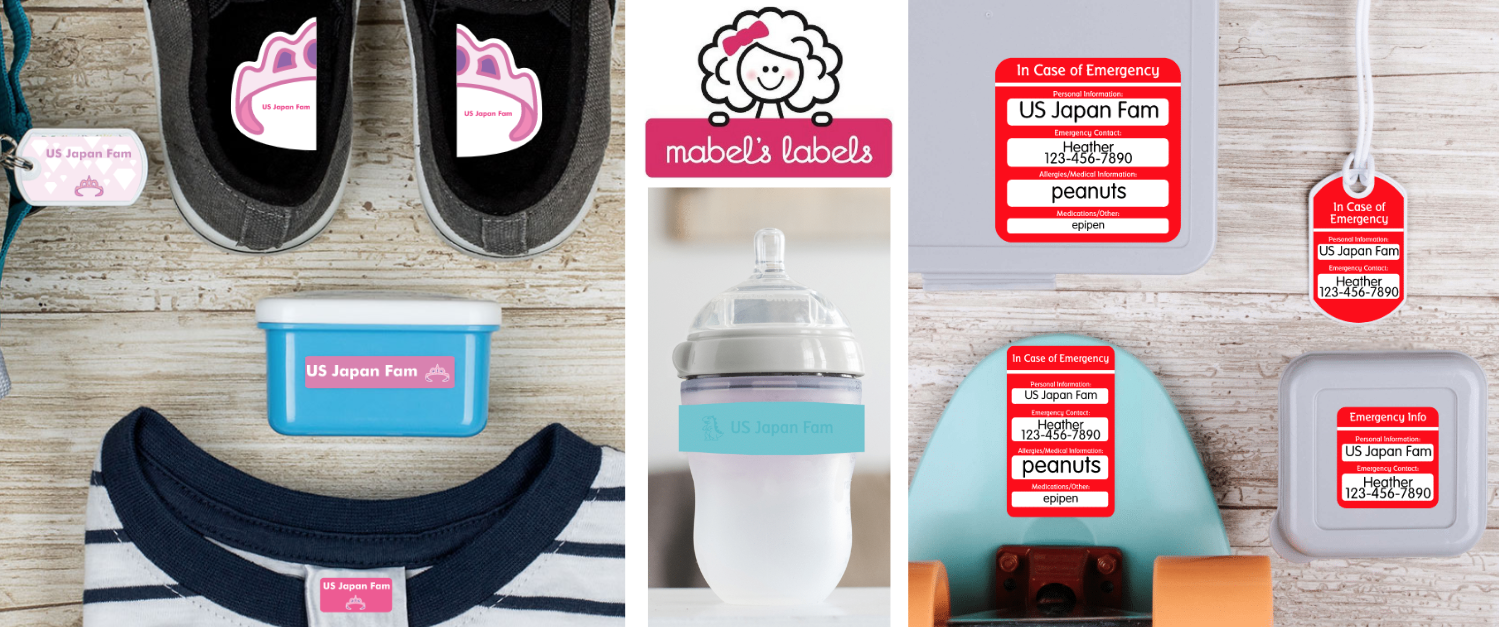 US Japan Fam's Fab February Giveaway for Kids - Mabels Labels