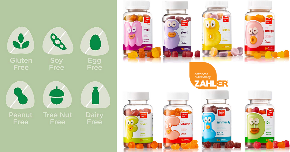 US Japan Fam's Fab February Giveaway for Kids - Zahler Children's Gummies