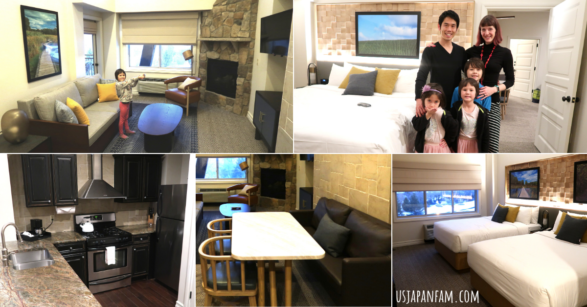 US Japan Fam reviews Crystal Springs Family Vacation during the Pandemic - Our Suite
