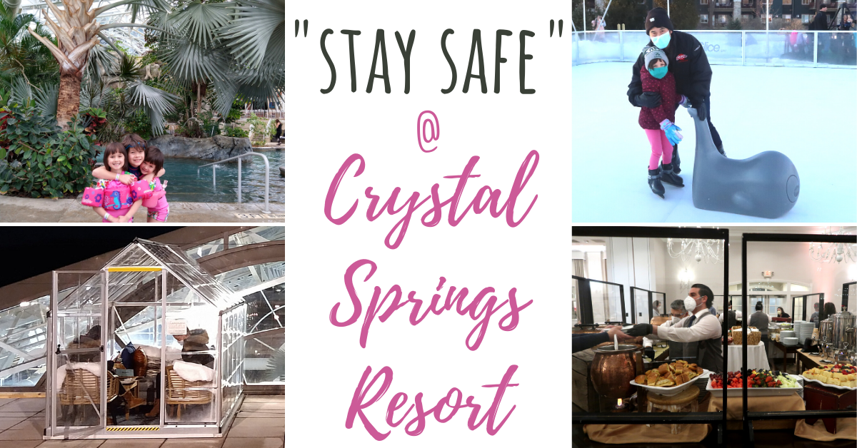 US Japan Fam reviews Stay Safe at Crystal Springs Resort - family vacation during the pandemic