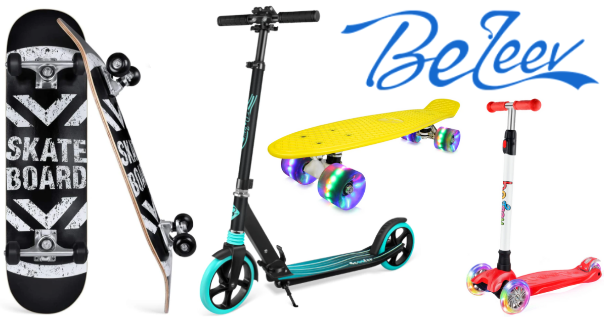 US Japan Fam's Spring into Summer Giveaway - Beleev Skateboards and Scooters