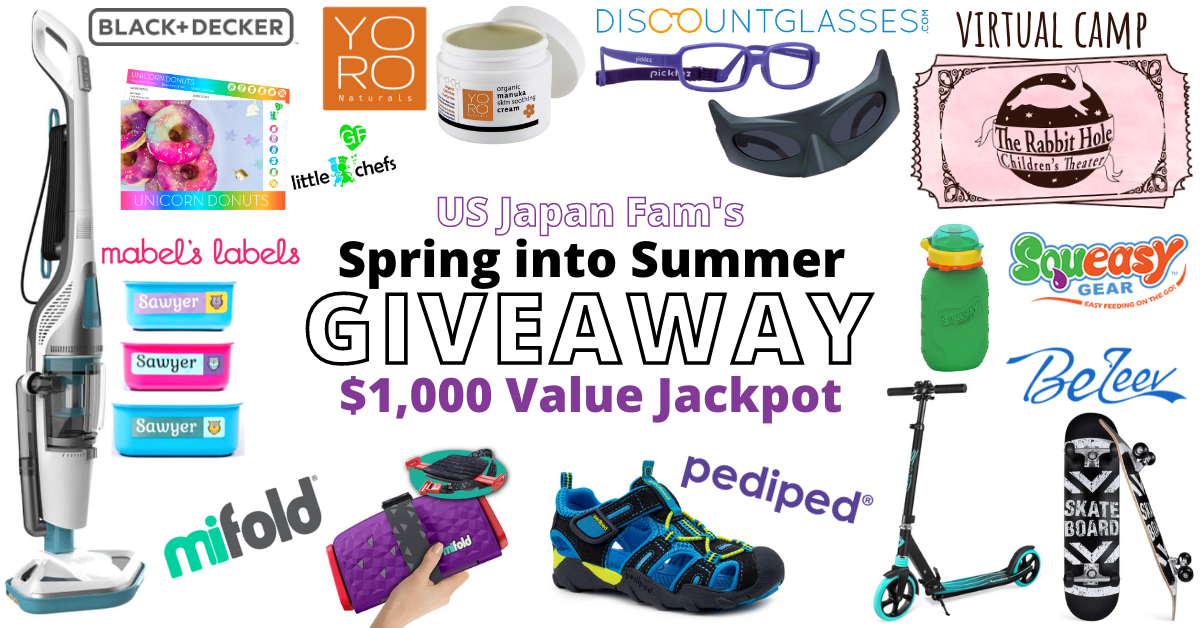 Spring into Summer Giveaway for Families