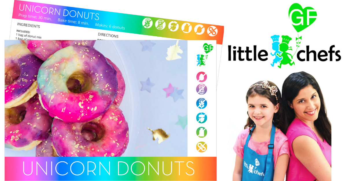 US Japan Fam's Spring into Summer Giveaway - Little GF Chefs Unicorn Donuts Kit