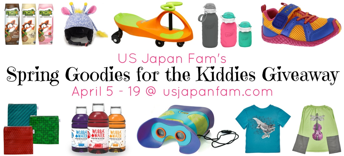 Enter to win $400 in kids' clothes, toys & more in US Japan Fam's Spring Goodies for the Kiddies Giveaway!