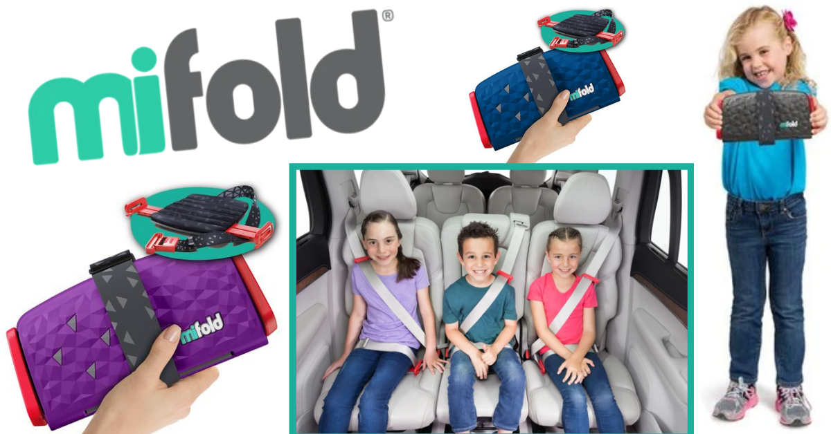 US Japan Fam Spring into Summer Giveaway - mifold comfort compact booster seat