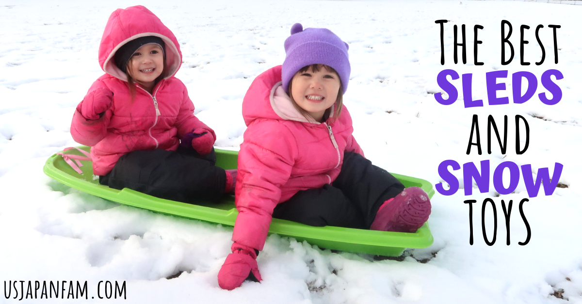 The Best Sleds & Snow Toys - US Japan Fam