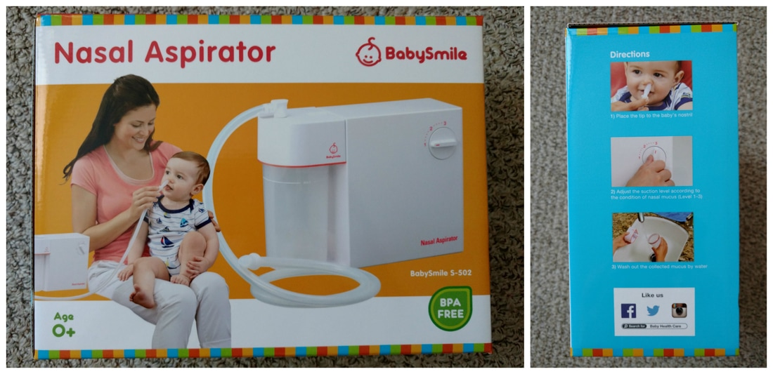 US Japan Fam reviews BabySmile Nasal Aspirator S-502