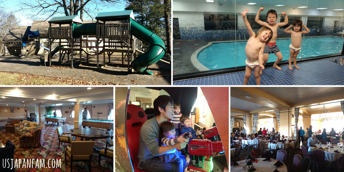Family-friendly facilities at Pocono Manor