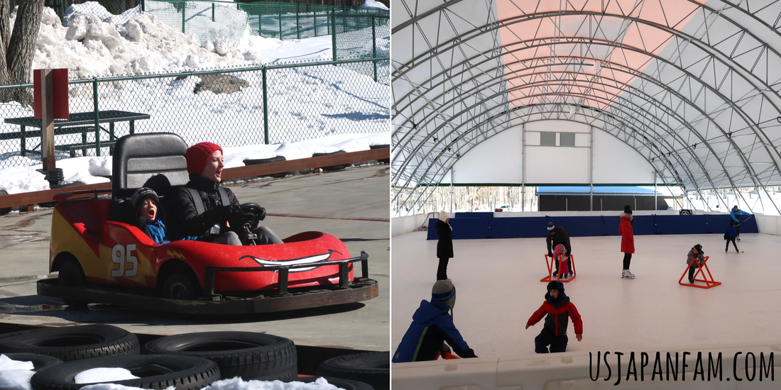 Go Carts & Synthetic Ice Skating at Woodloch Resort in The Poconos
