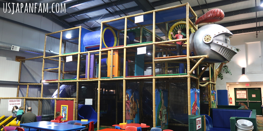 Forest Indoor Playground at Woodloch Resort in The Poconos