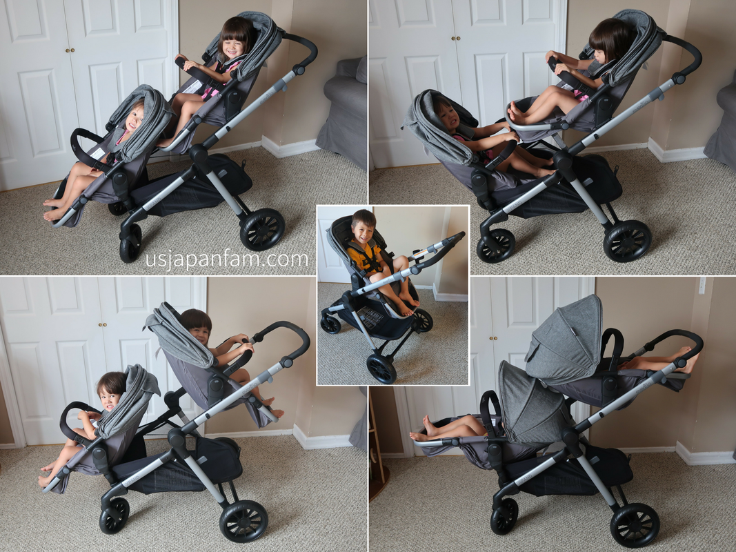 US Japan Fam reviews Evenflo Pivot Xpand Single to Double Stroller