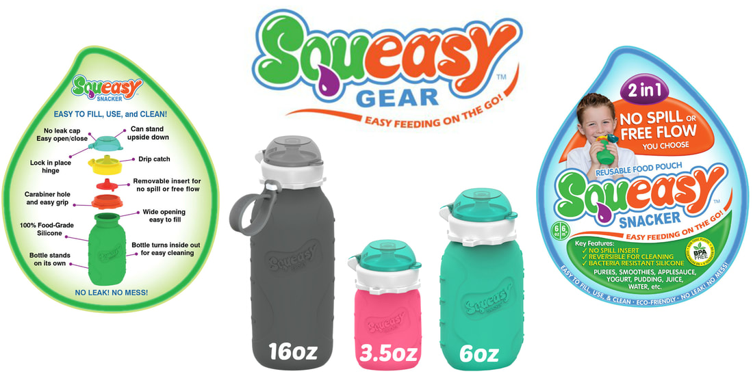 US Japan Fam 2020 Back to School Giveaway - Squeasy Gear Snack Pouch