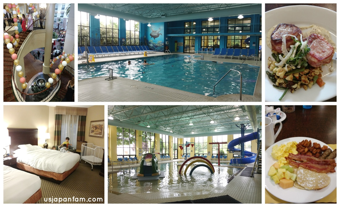 US Japan Fam's Family Vacation Guide to Lancaster: The DoubleTree's kid's pool makes it a great choice for families!!