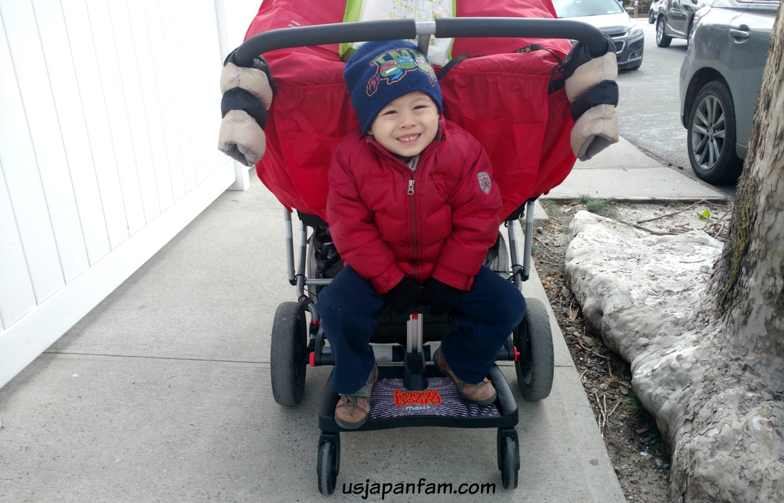 US Japan Fam loves Lascal's BuggyBoard Maxi+ with Saddle!!