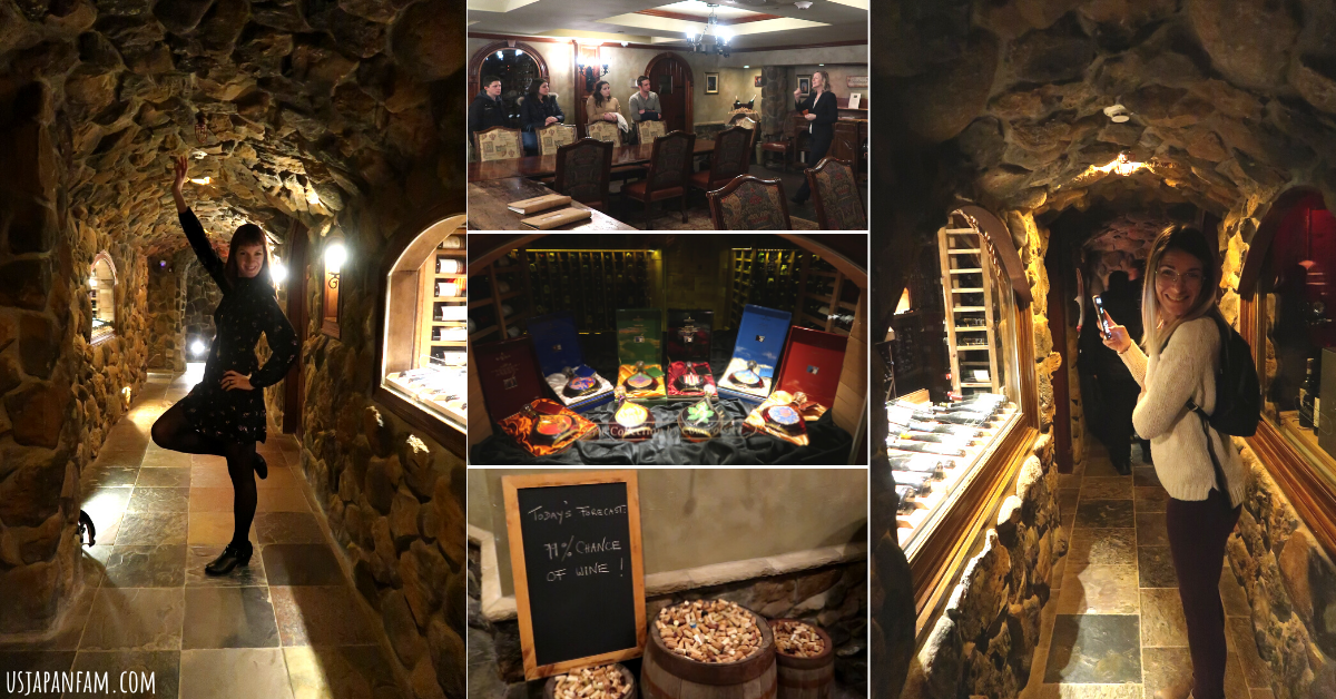 US Japan Fam's How To Momcation - Crystal Springs Resort - Wine Cellar Tour