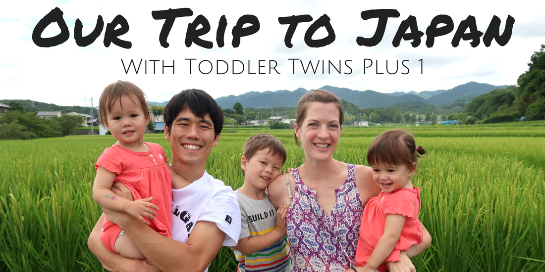 US Japan Fam's trip to Japan with toddler twins plus one!