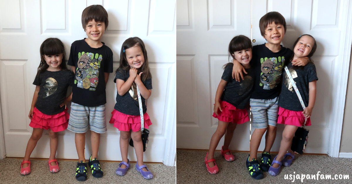 US Japan Fam's review and giveaway of pediped childrens shoes & purse strap