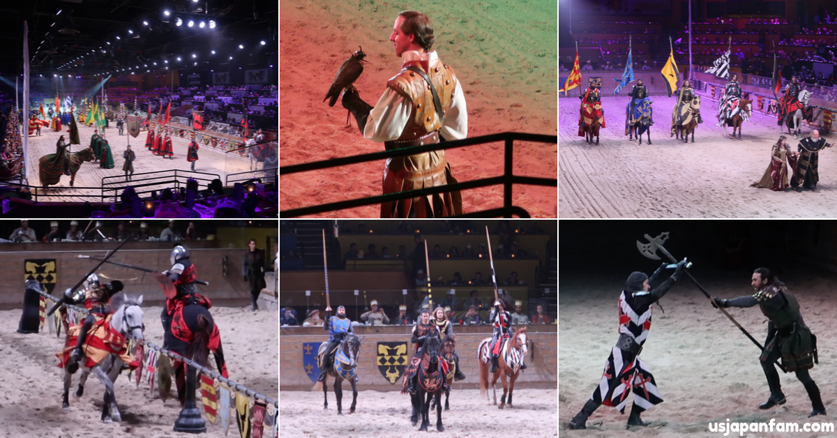 usjapanfam reviews medieval times lyndhurst nj - jousting and more!
