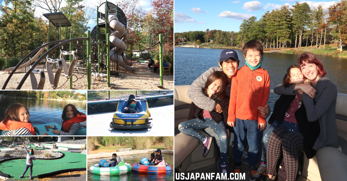 US Japan Fam Family Vacation at Woodloch Resort Review - Outdoor Activities