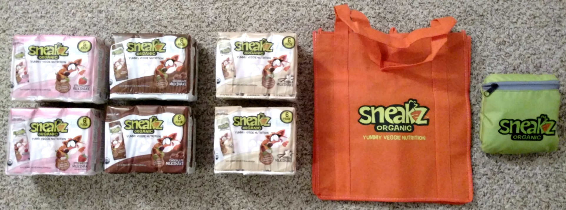 US Japan Fam is giving away 6 six-packs of Sneakz organic milk!!